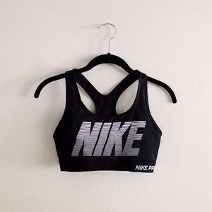 Nike Pro Black Sports Bra